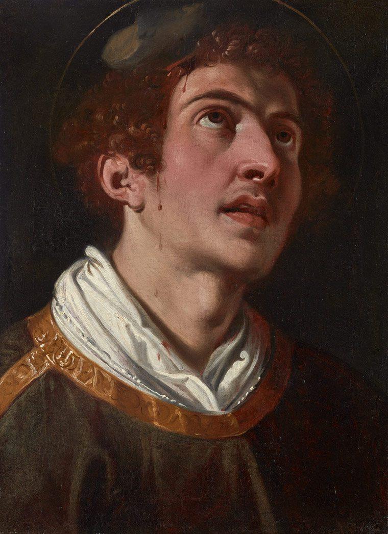 Jeronimo Jacinto de Espinosa. Pareja de Santos