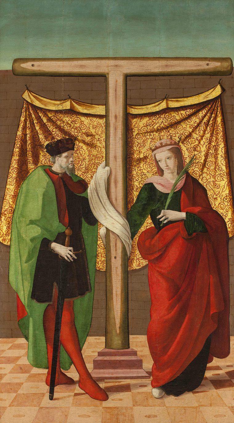 Santa Elena y Constantino